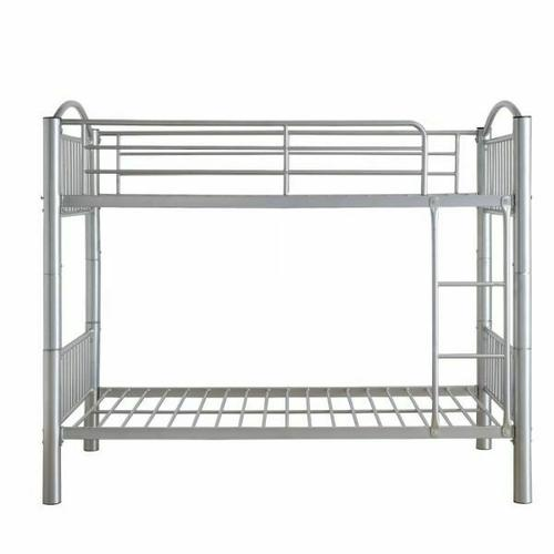 ACME Cayelynn Twin/Twin Bunk Bed - 37385SI - Silver