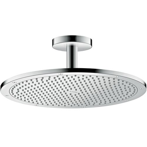 Stainless Steel Optic Overhead shower 350 1jet with ceiling connection