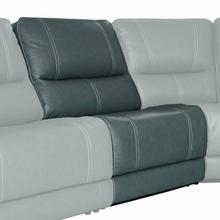View Product - SHELBY - CABRERA AZURE Manual Armless Recliner