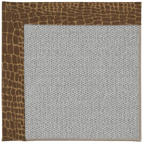"""Inspire-Silver Alligally Toffee - Rectangle - 18"""" x 18"""""""