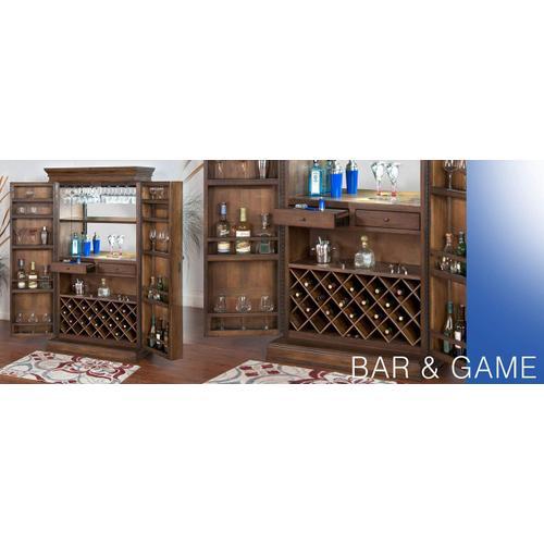 Savannah Traditional Bar Armoire