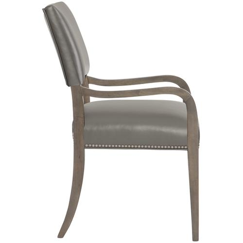 Moore Leather Arm Chair