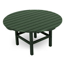 "Green Round 38"" Conversation Table"
