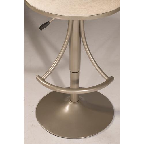 Athena Swivel Adjustable Stool - Champagne