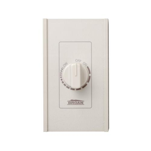 Broan-NuTone® Speed Control, Variable Speed, 277V, 6 amps, Ivory