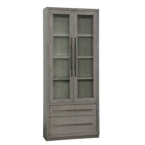 PURE MODERN 36 in. Glass Door Cabinet
