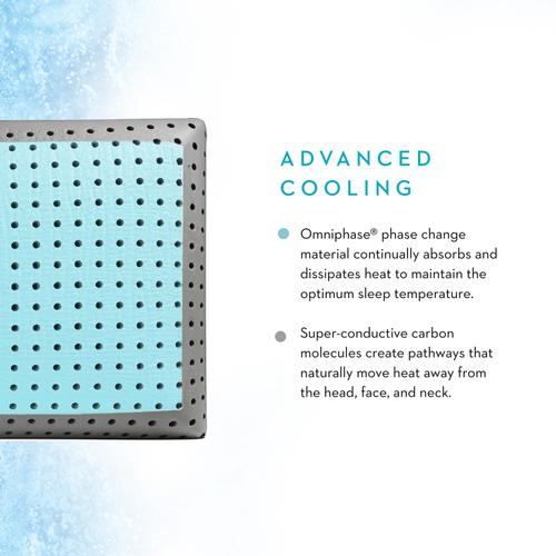 Z Carbon Cool LT Pillow, Travel