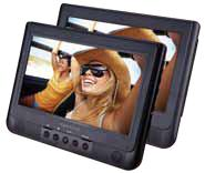 """View Product - 10.1"""" Dual Screen Portable DVD Player"""