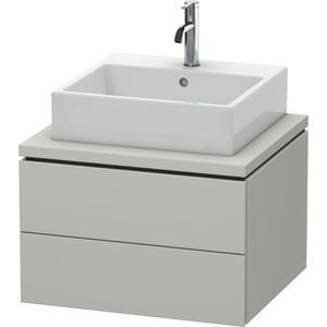 Vanity Unit For Console, Concrete Gray Matte (decor)