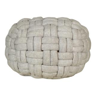 Bronya Pouf Pebble Grey