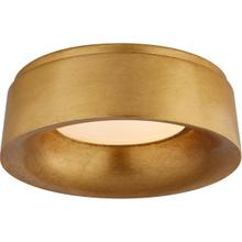 View Product - Barbara Barry Halo LED 11 inch Gild Flush Mount Ceiling Light
