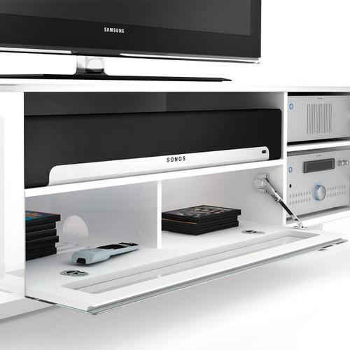 Quad Width Cabinet 8239 in Gloss White