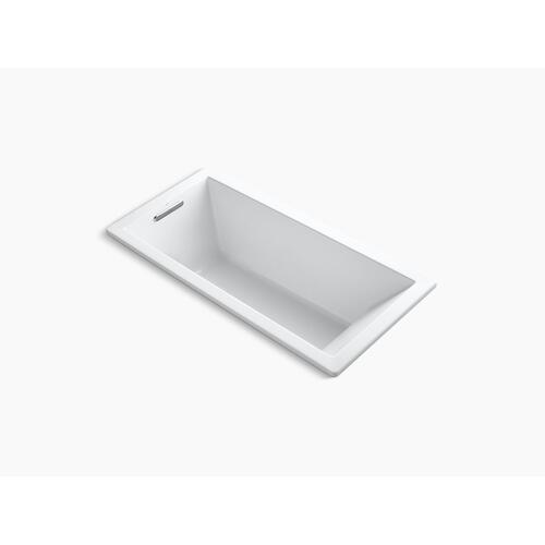 "Biscuit 66"" X 32"" Drop-in Vibracoustic Bath With Bask Heated Surface"