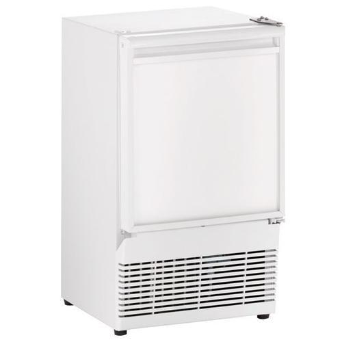 "U-Line - Bi95 14"" Crescent Ice Maker With White Solid Finish (115 V/60 Hz Volts /60 Hz Hz)"