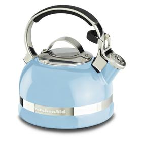 2.0-Quart Stove Top Kettle with Full Stainless Steel Handle Cameo Blue