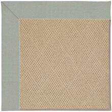 "Creative Concepts-Cane Wicker Canvas Spa Blue - Rectangle - 24"" x 36"""
