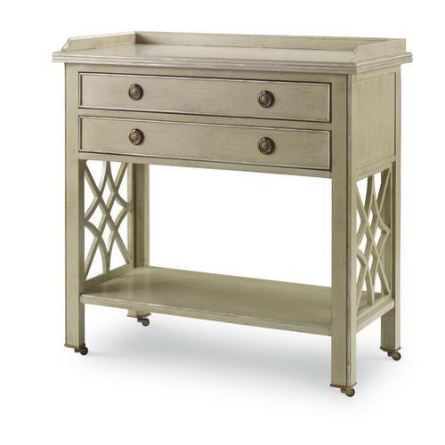 Century Furniture - Georgian Fretwork Nightstand