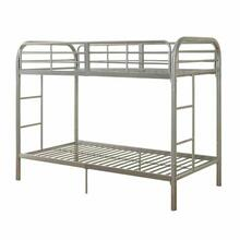 ACME Thomas Twin/Twin Bunk Bed - 02178SI - Silver