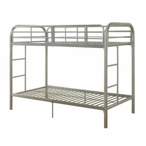 ACME Thomas Twin/Twin Bunk Bed - 02178SI - Silver