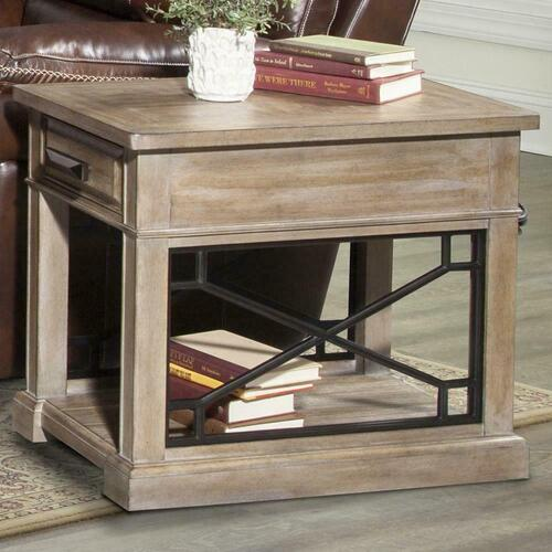 SUNDANCE - SANDSTONE Chairside Table