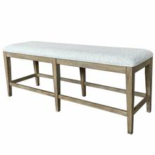 View Product - SUNDANCE DINING - SANDSTONE Bench Counter Upholstered 60 in.