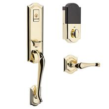 See Details - Lifetime Polished Brass Evolved Bethpage Lever Handleset