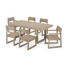View Product - EDGE 7-Piece Dining Set in Vintage Sahara