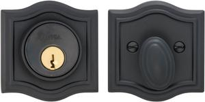 Arched Auxiliary Deadbolt Kit in (US10B Black, Oil-Rubbed, Lacquered) Product Image
