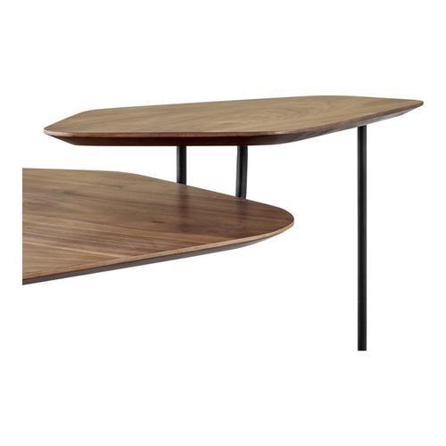 Hexo Coffee Table Walnut