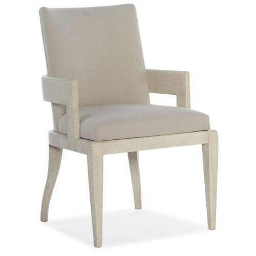 Dining Room Cascade Upholstered Arm Chair 2 per carton/price ea