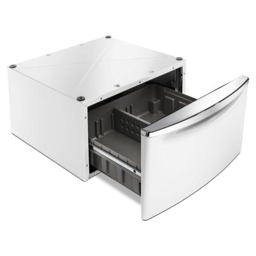 """Gallery - 15.5"""" Pedestal for Front Load Washer and Dryer with Storage"""