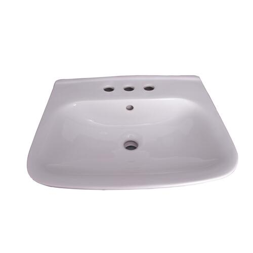 "Eden 450 Wall-Hung Basin - 8"" Widespread"