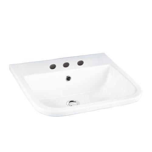 """Series 600 Drop-In Wash Basin - 8"""" Widespread"""
