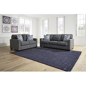 Kiessel Nuvella Sofa & Loveseat Steel