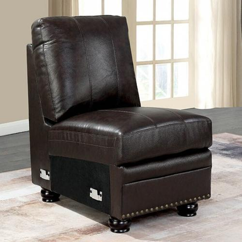 Furniture of America - Edith Armless Chair