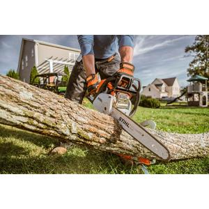 Gallery - With the STIHL Easy2Start™ system and Quick Chain Adjuster, this high-tech chainsaw is unbelievably easy to use.