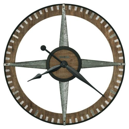 Howard Miller Buster Oversized Wall Clock 625709