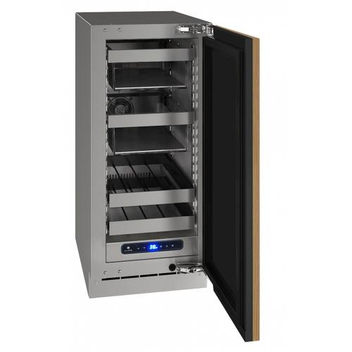 "Hbv515 15"" Beverage Center With Integrated Solid Finish and Field Reversible Door Swing (115 V/60 Hz Volts /60 Hz Hz)"