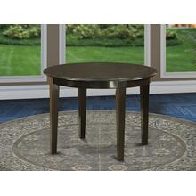 """Boston table 42"""" Round with 4 tapered legs"""