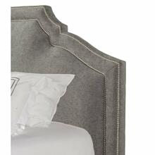 CASEY - SHIMMER King Headboard 6/6 (Grey)