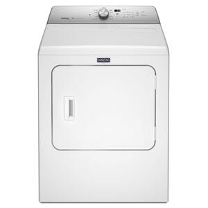 Large Capacity Electric Dryer with Steam-Enhanced Cycles - 7.0 cu. ft. White Product Image