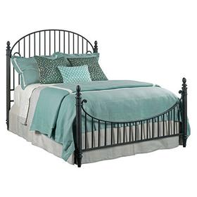 Weatherford Heather Catlins King Metal Bed - Complete