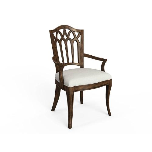 Thoroughbred Gentry Arm Chair (wood) - Toast