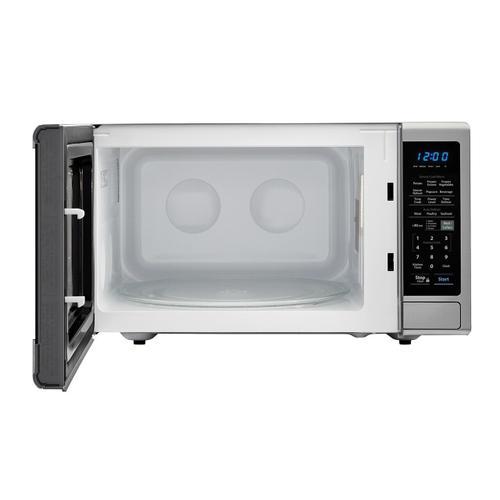 1.4 cu. ft. 1000W Sharp Black Carousel Countertop Microwave Oven