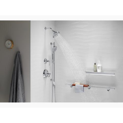 Polished Chrome 1.75 Gpm Multifunction Showerhead With Katalyst Air-induction Technology