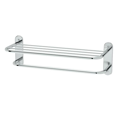 """Spa Rack - 26 1/2""""L by 8 1/2""""H in Chrome"""