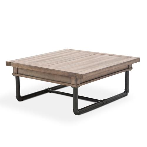 Square Cocktail Table W/storage