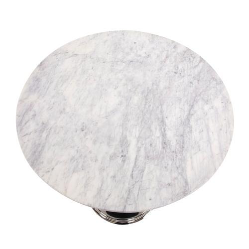 Howard Elliott - Micca Club White Marble Bistro Table