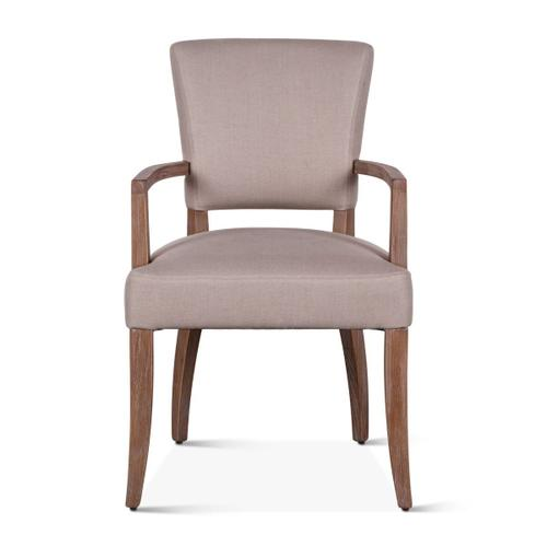 Home Trends and Design - Mindy Arm Chair Beige Linen