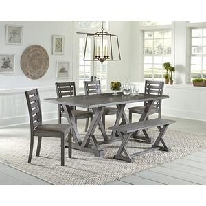Rectangular Dining Table - Harbor Gray Finish